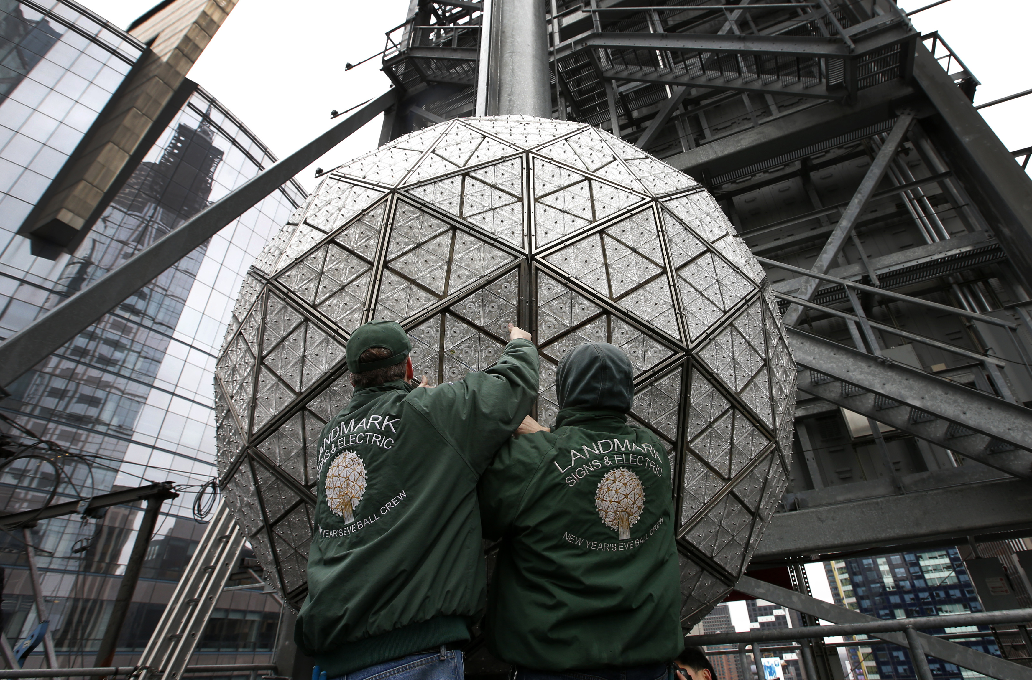 New York New Years Eve Ball Drop