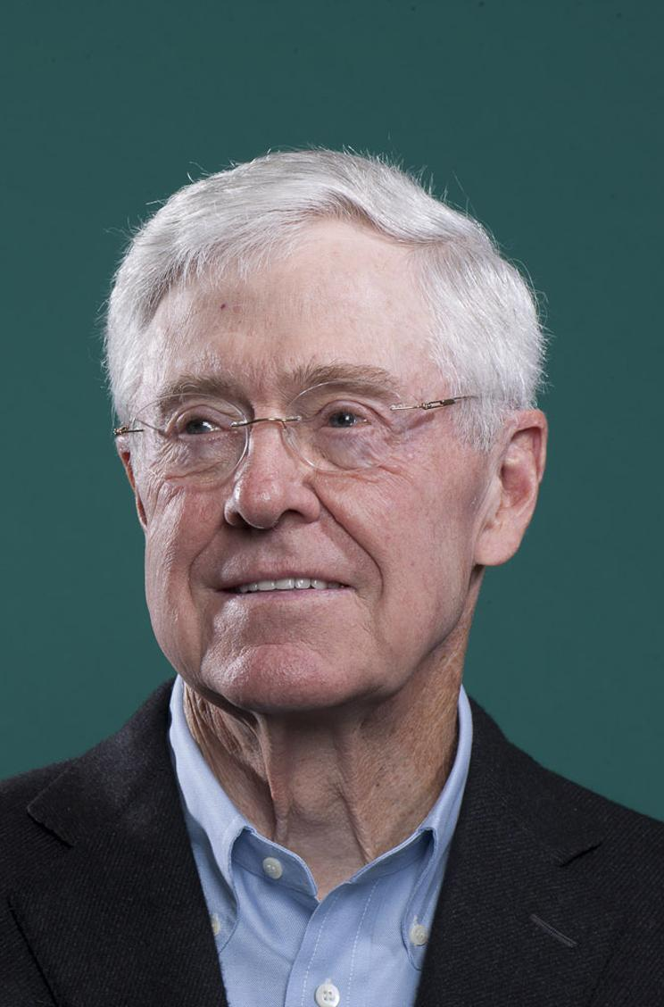 Charles koch has no plans to back republican candidate for for Charles und david koch