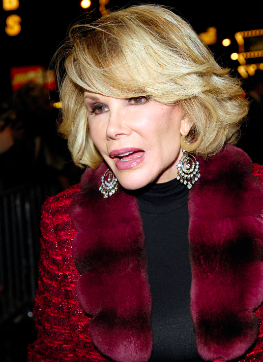 Joan Rivers Dead Twitter Reaction Celebrities And Fans Mourn Fashion Police Star
