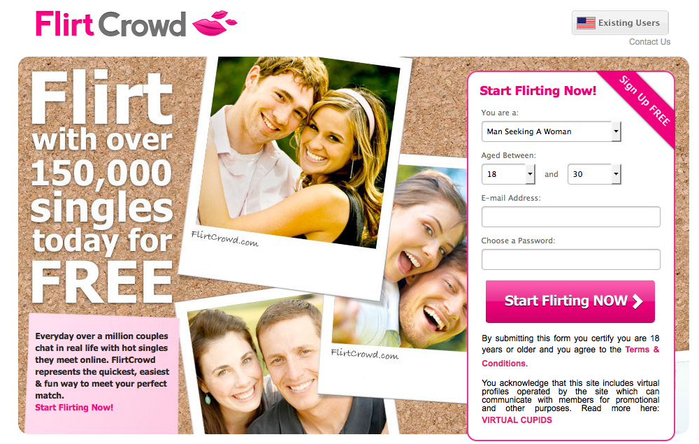 flirting website