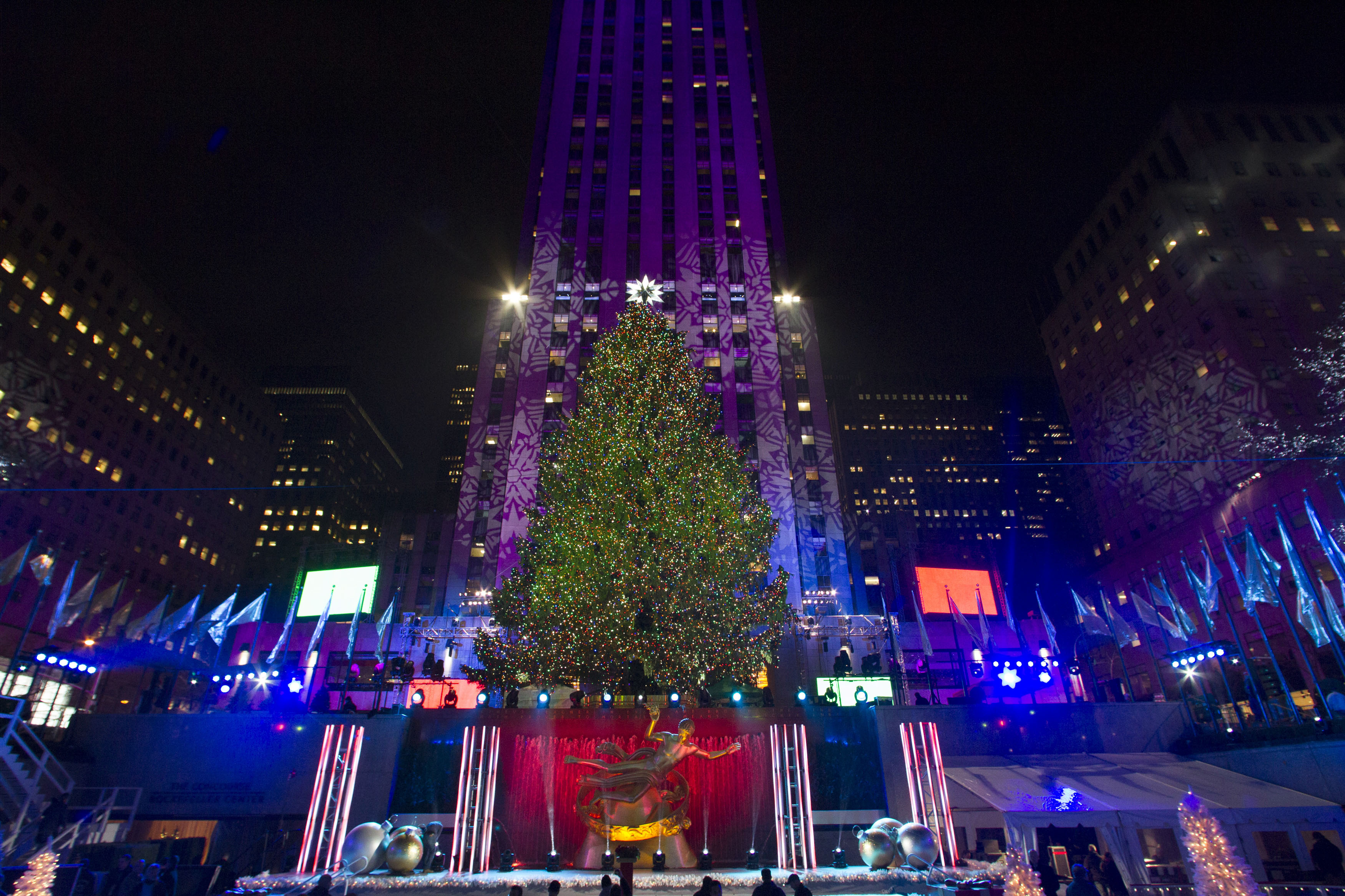 Rockefeller Center Christmas Tree Lighting 2014: When And