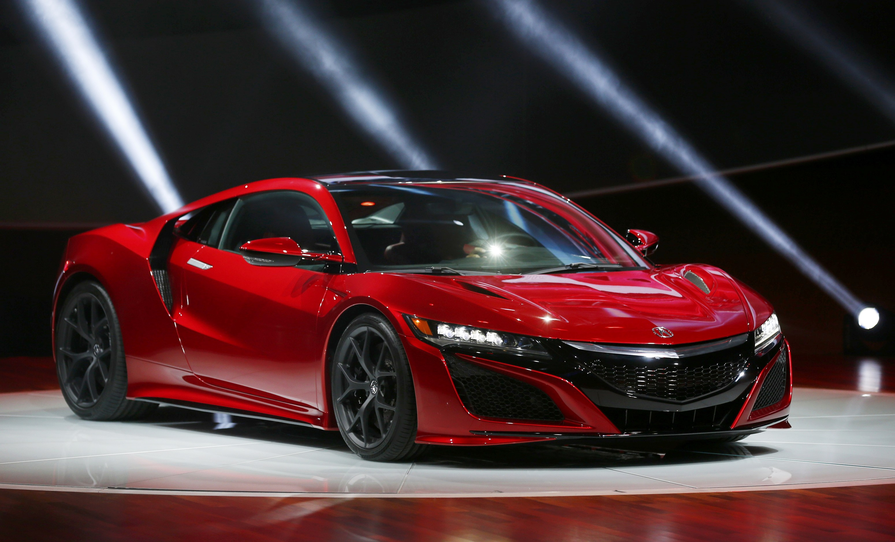 2015 Detroit Auto Show: Finally, Acura's NSX 'Human