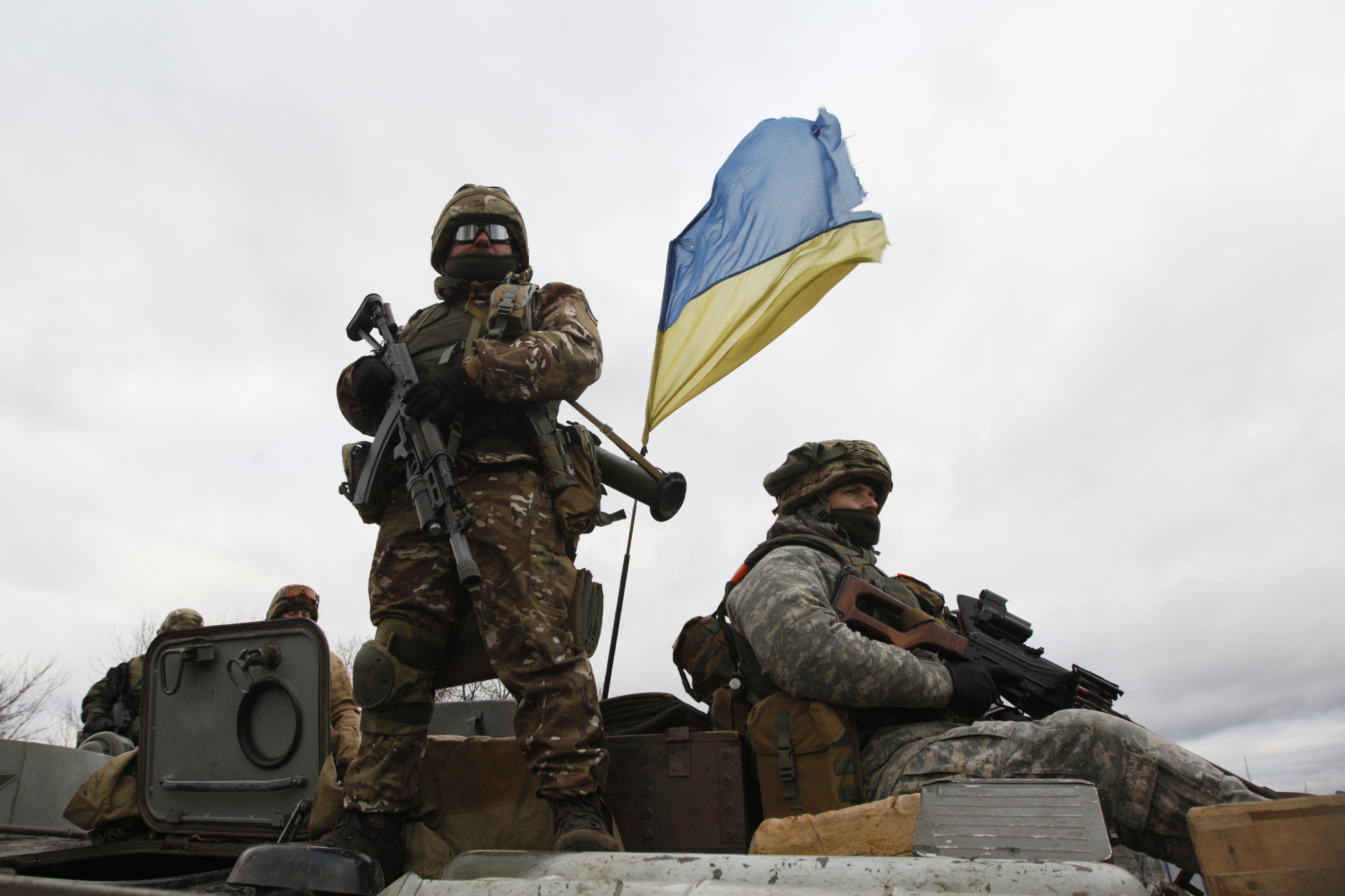 Russian Military Forces Weapons Enter Ukraine Confirms