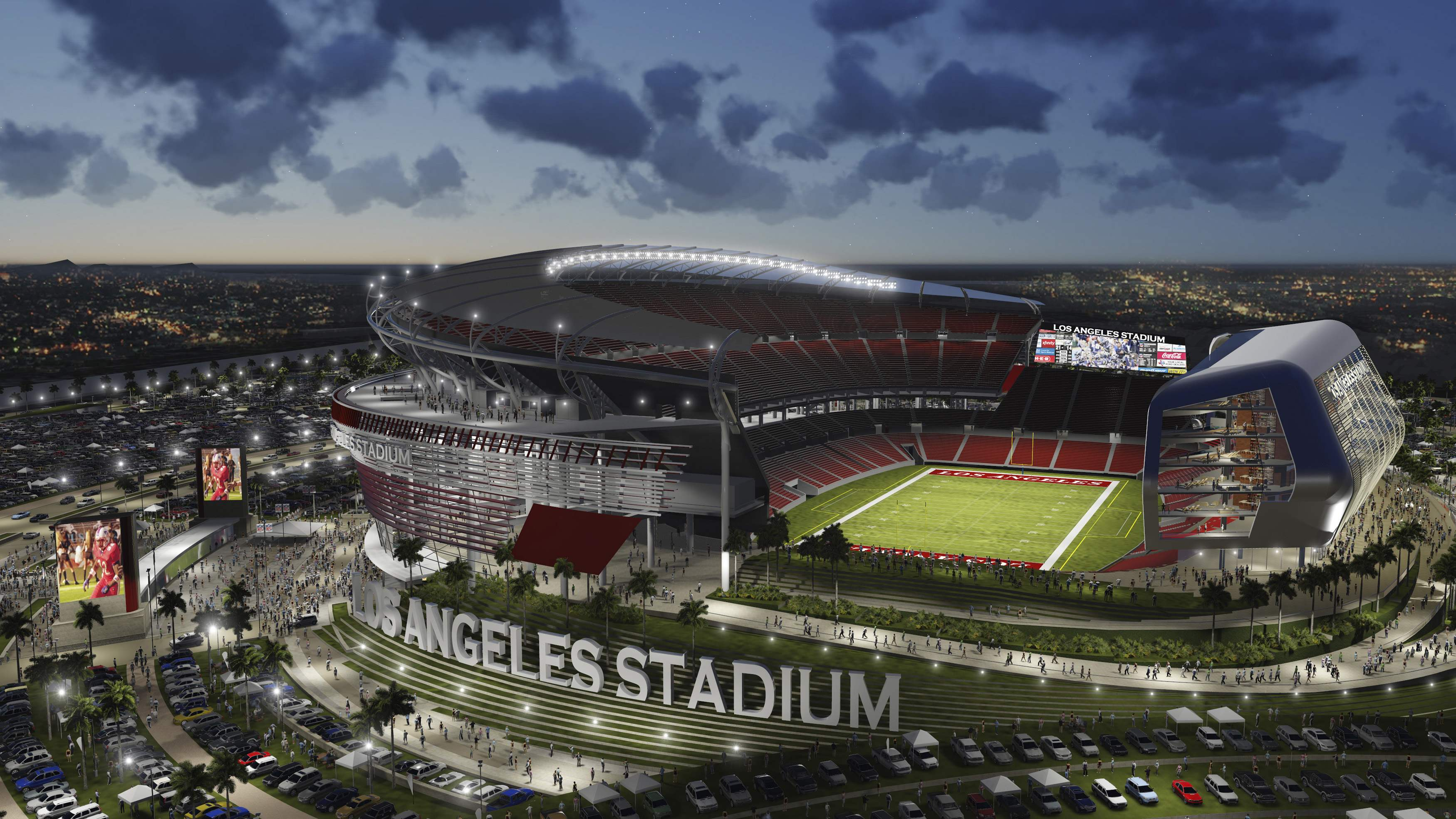 Raiders Chargers Rams Headed To Los Angeles In 2016 L A