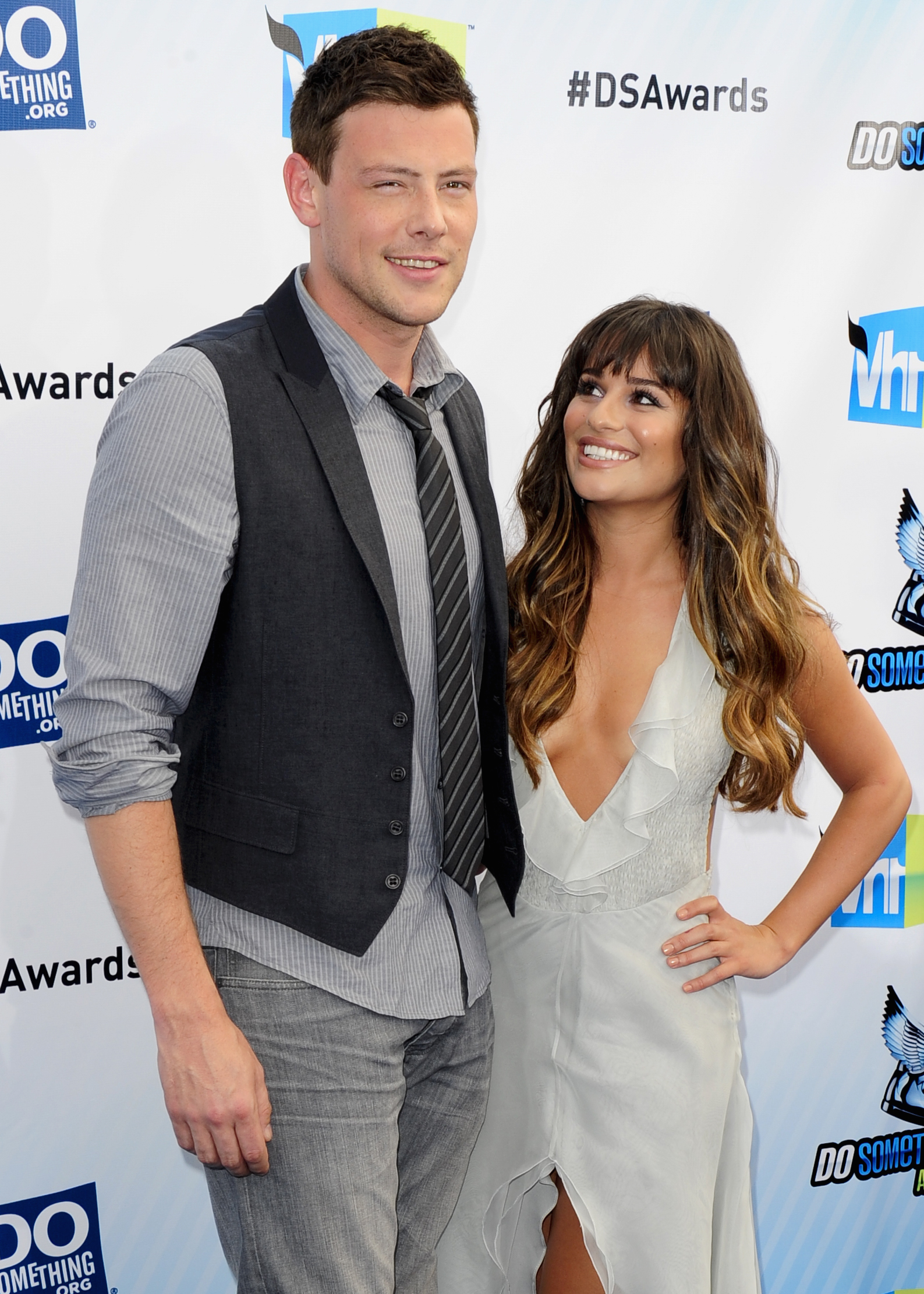 lea michele and cory monteith dating 2010 Glee, which also starred his girlfriend at the time, lea michele, was still on when monteith was found dead, and an episode, the quarterback, in which his character also died, was dedicated to the actor.