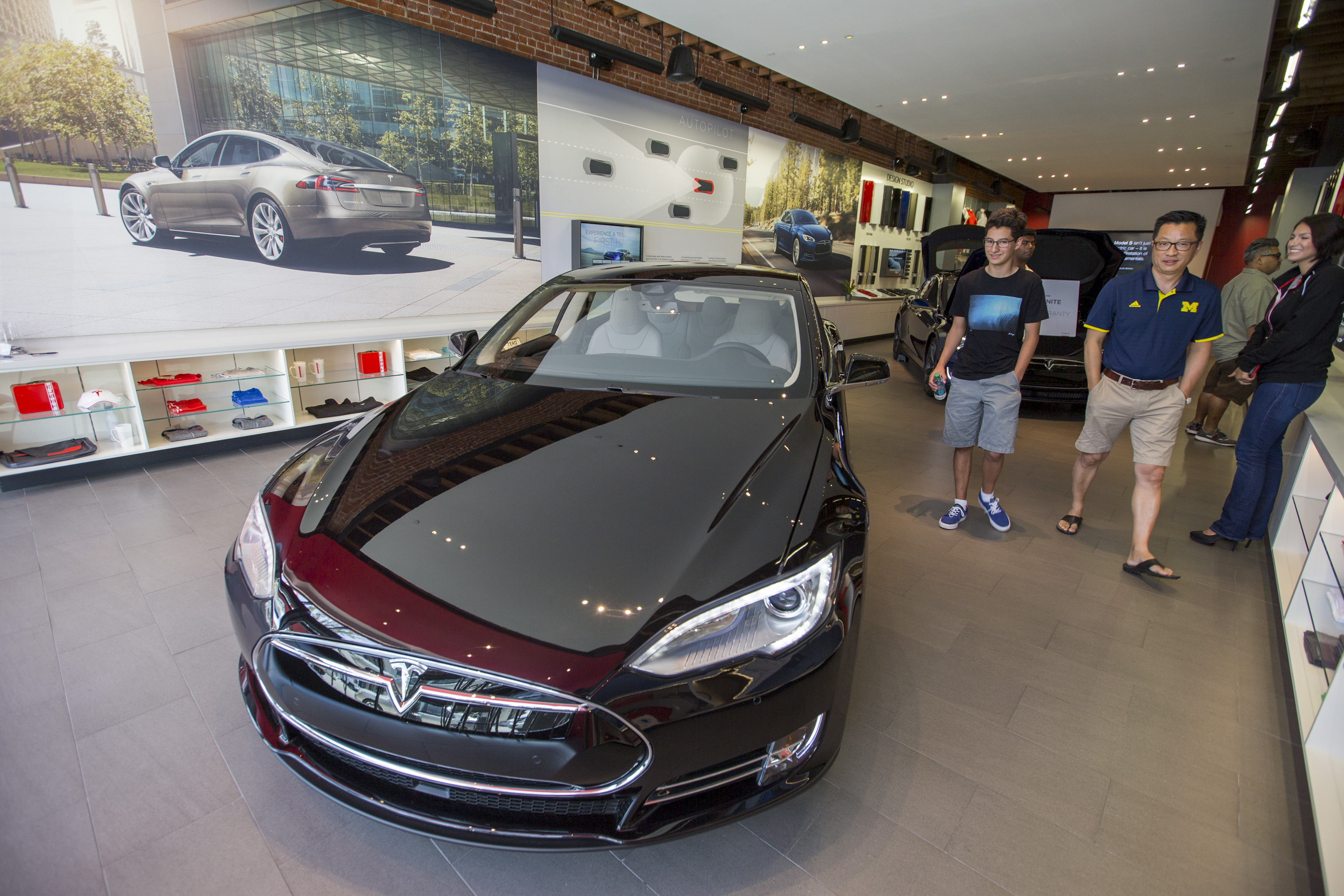 Tesla Motors Inc Tsla Stock Down After Company Lowers