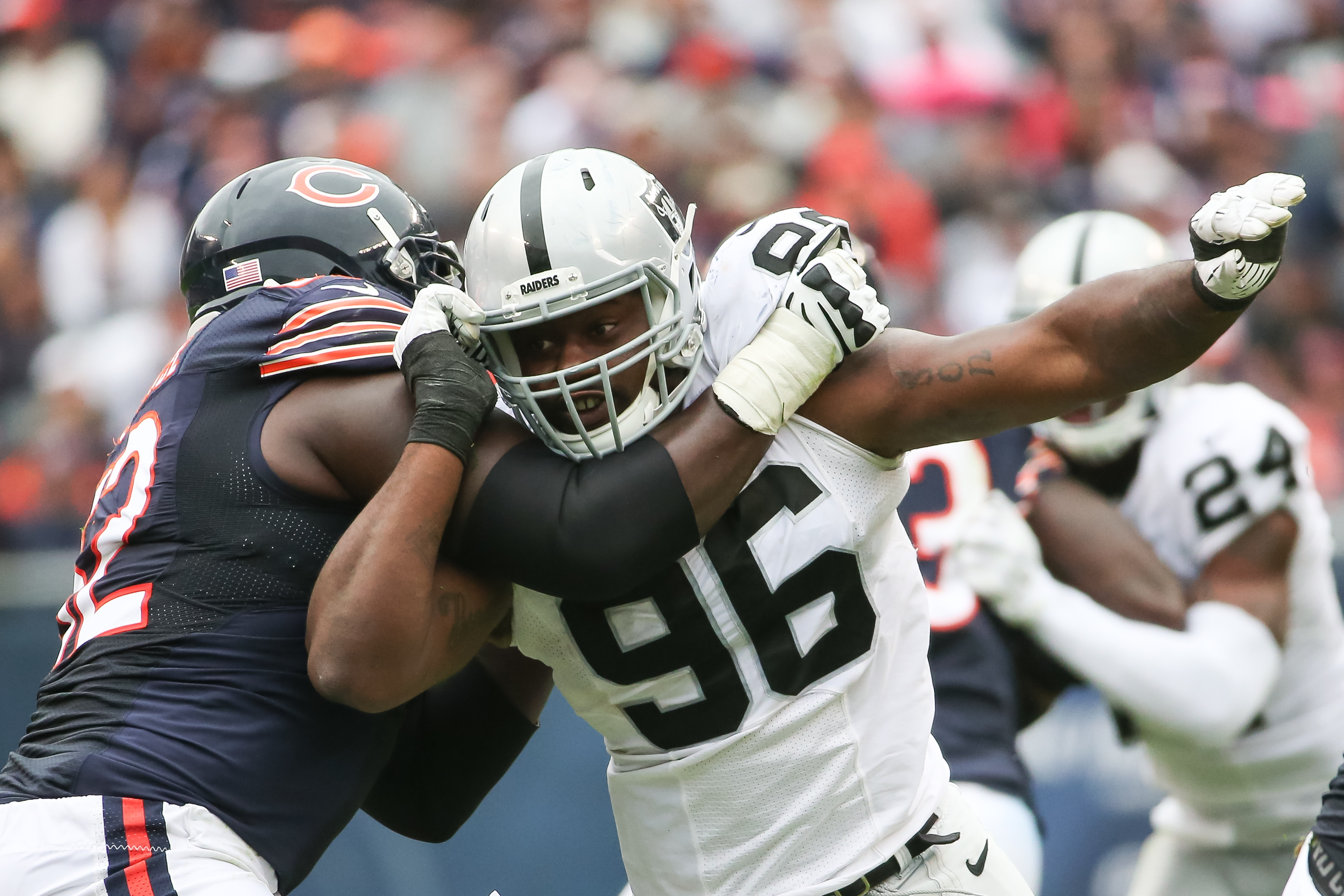Raiders Injury News Oakland S Defensive Line Banged Up