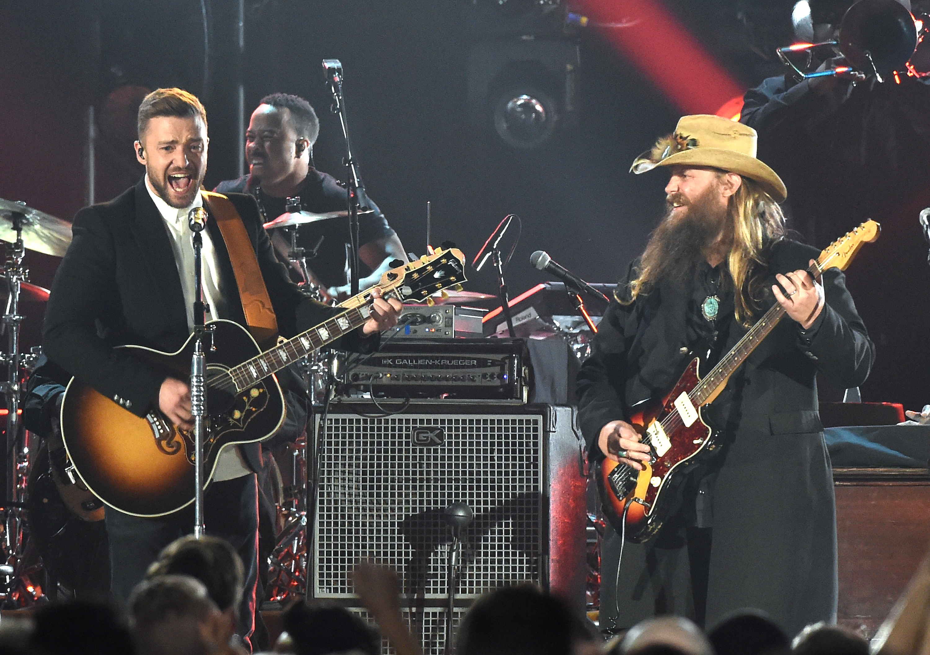 chris stapleton justin timberlake perform tennessee