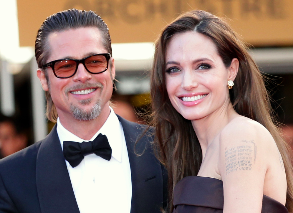 Angelina jolie et brad... Brad Pitt And Angelina Jolie