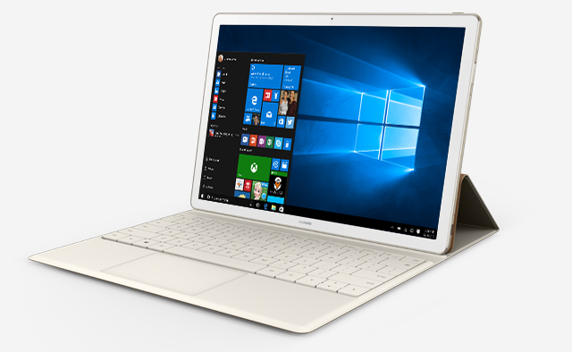 huawei matebook a 2 in 1 windows tablet competing with the surface 3 starting at 700. Black Bedroom Furniture Sets. Home Design Ideas