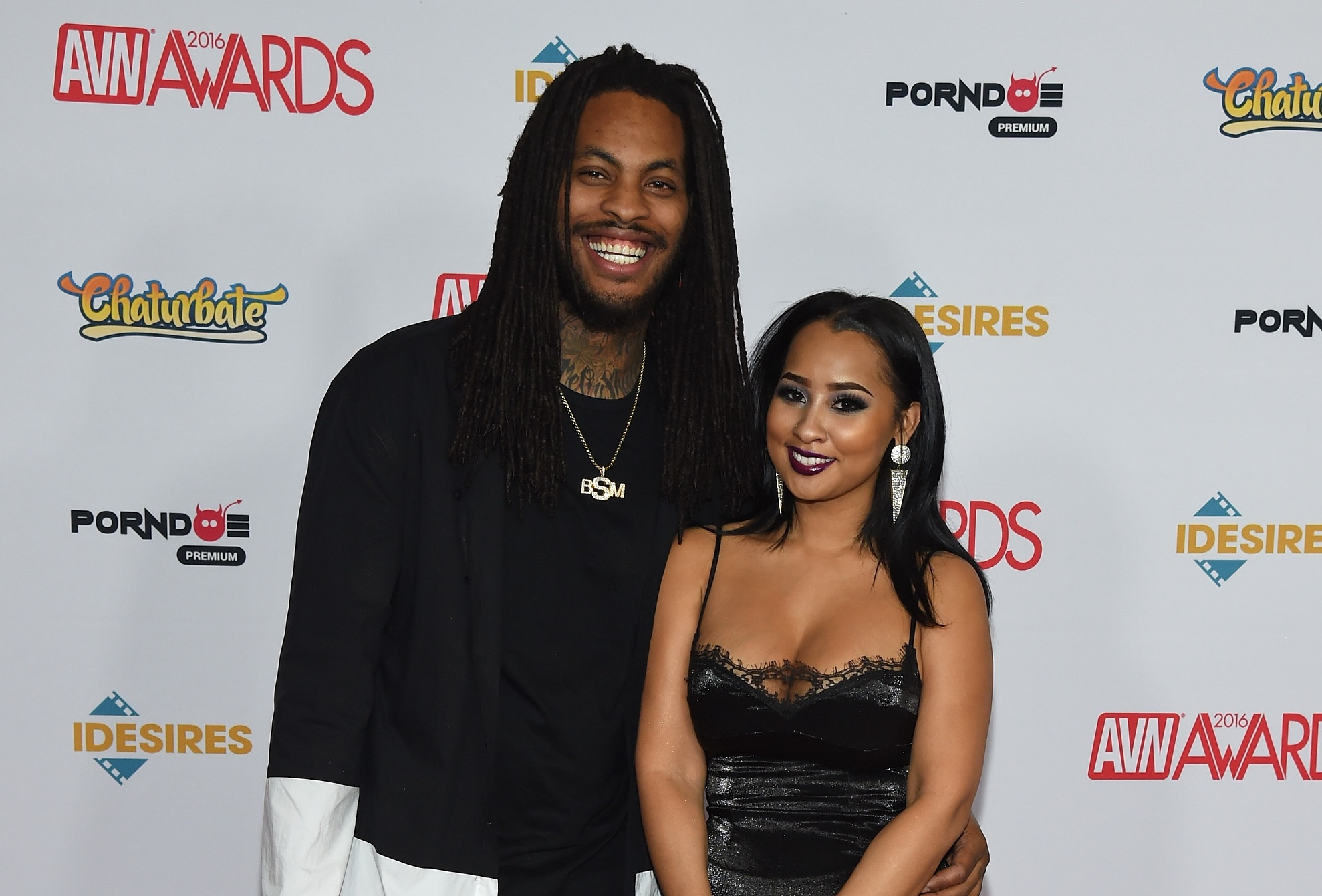 Then boyfriend and girlfriend: Waka Flocka Flame and Tammy Rivera