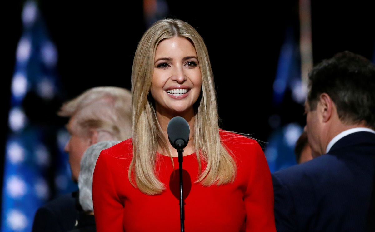 politics ivanka trump blue