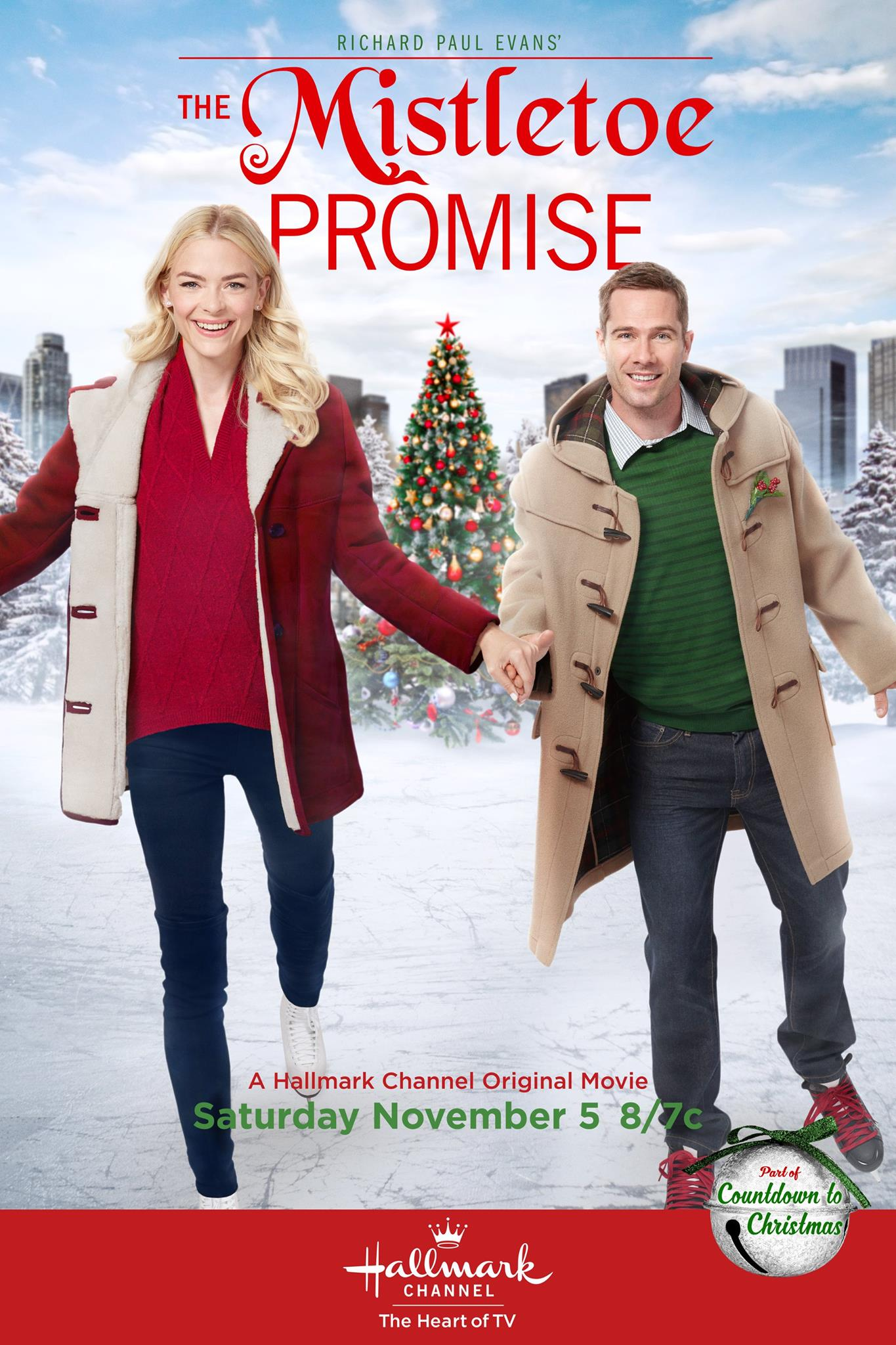 hallmark channel countdown to christmas movies premiere