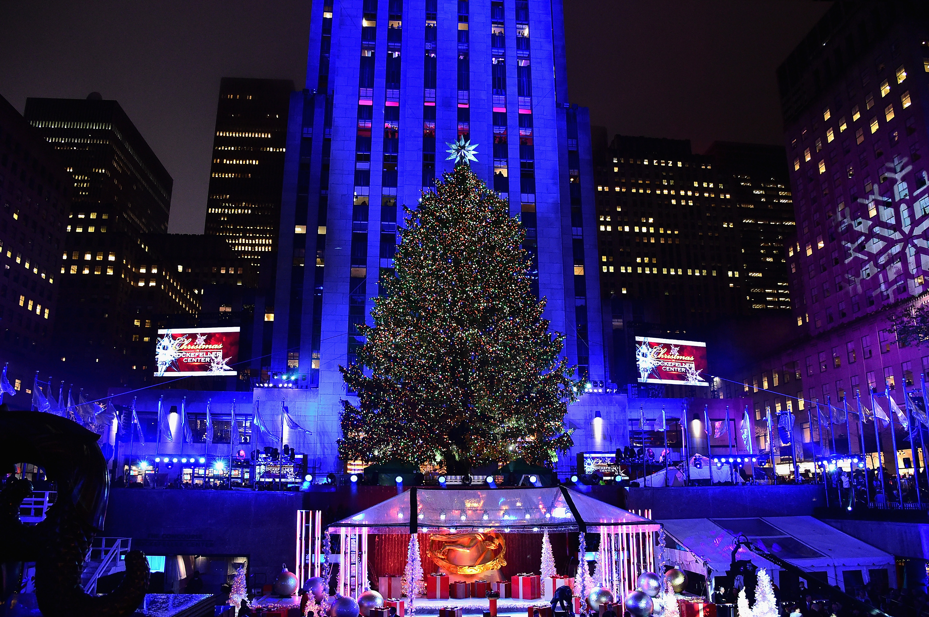 Rockefeller Center Christmas Tree Lighting 2016: Where To Watch ...