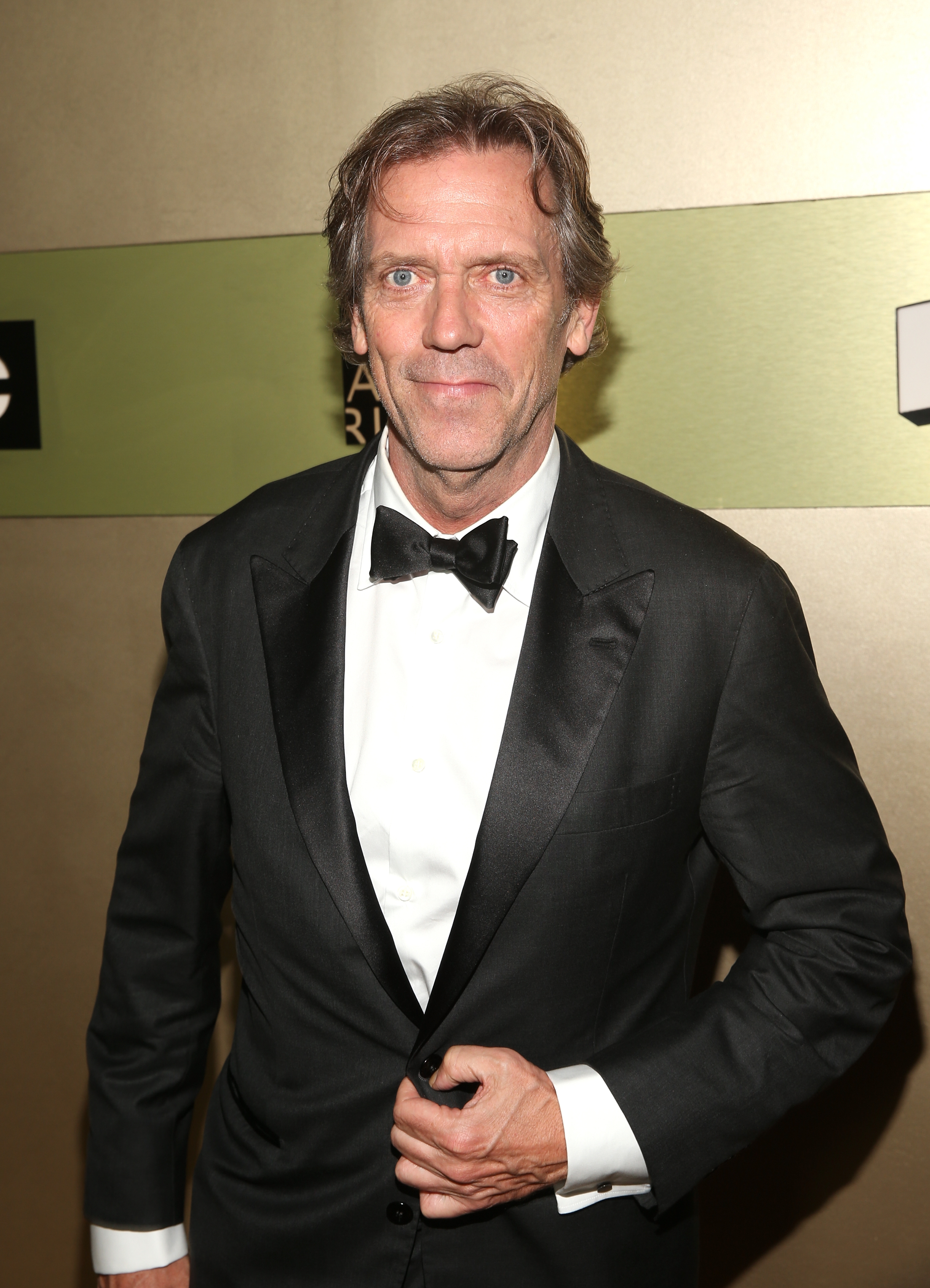Hugh Laurie Accepts Hi...