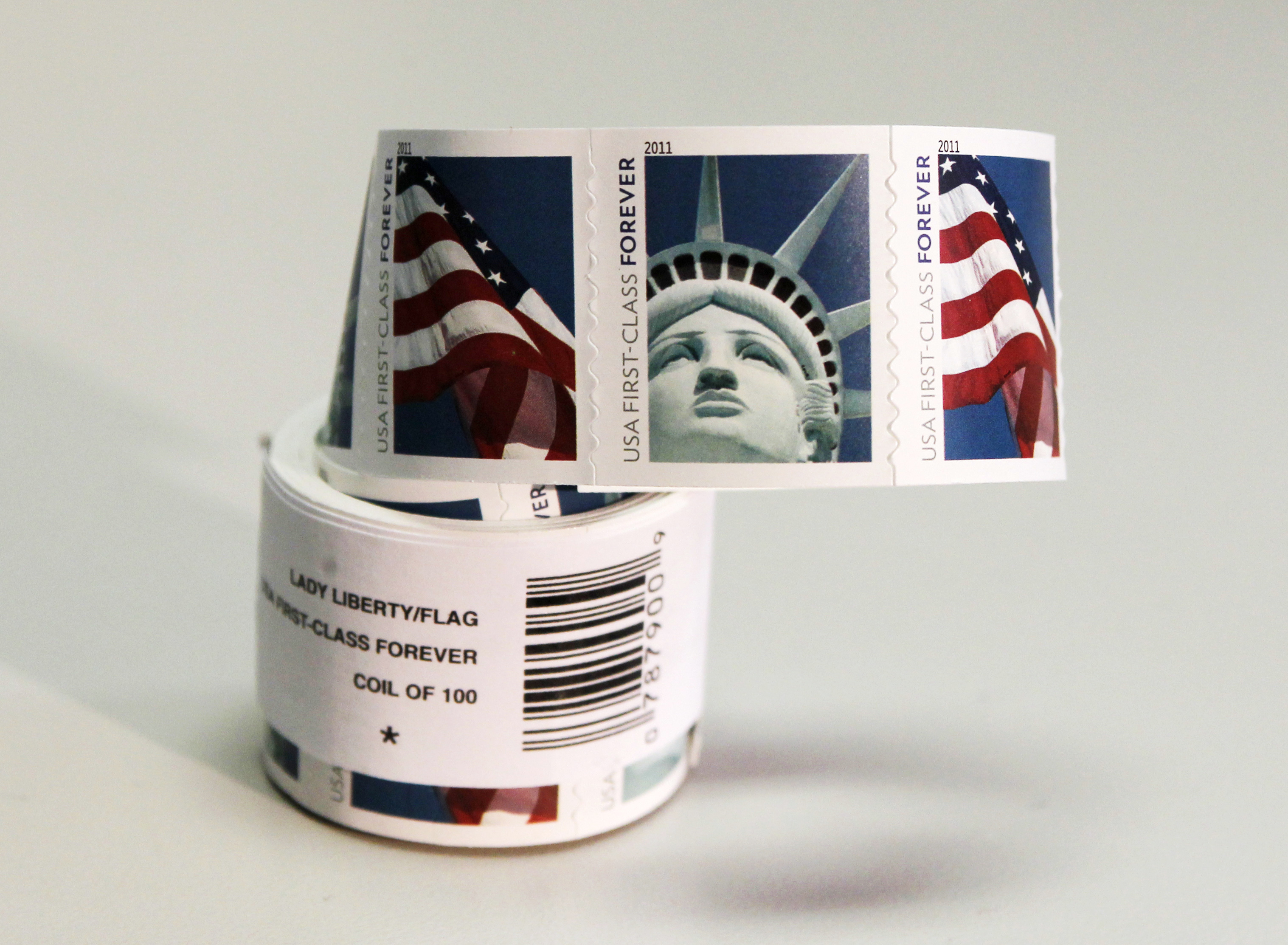 how many stamps does it take to mail a letter how much does mail cost forever postage rate increase 22199 | rtr2l9wr