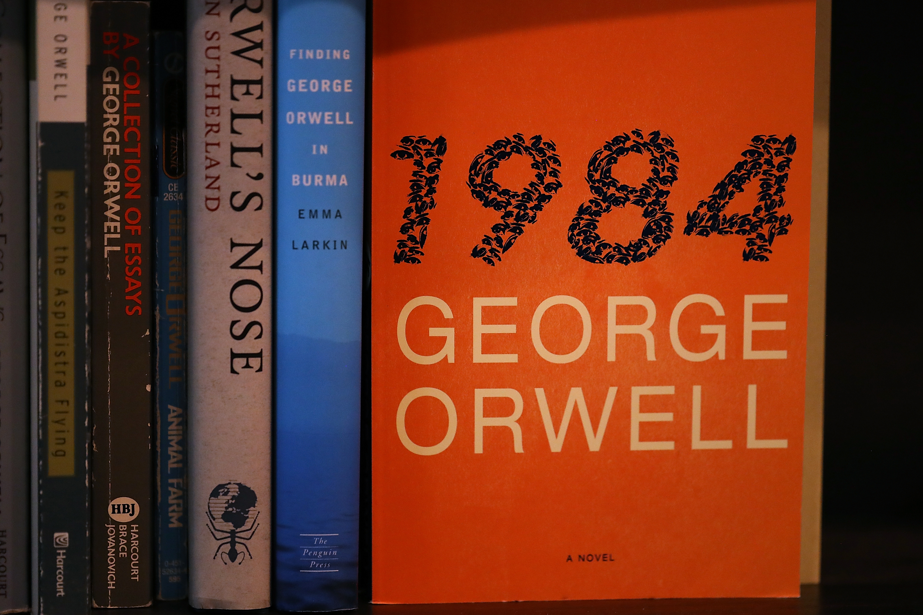 george orwell interest in dystopian novel surges in wake george orwell 1984 interest in dystopian novel surges in wake of trump administration s newspeak