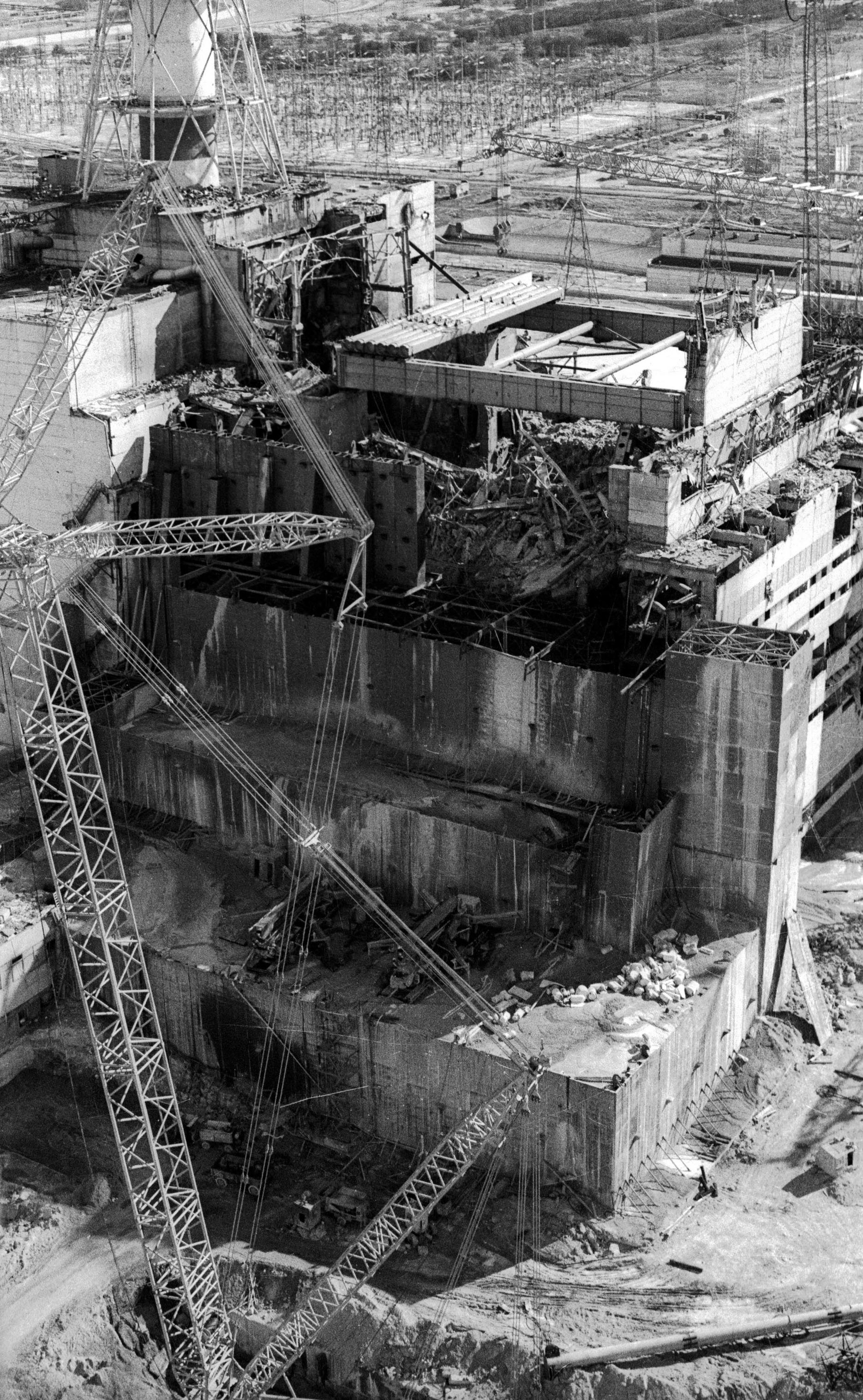 Details of the nuclear accident in chernobyl in 1986