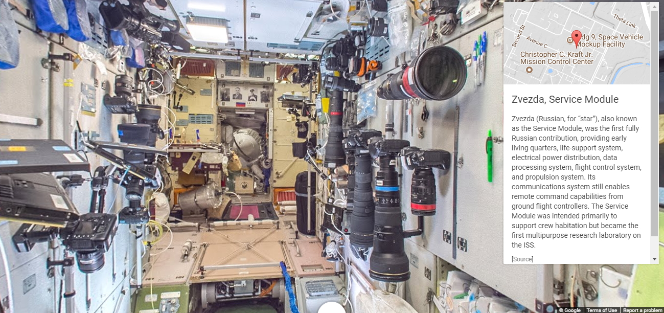 Take A Tour Of The International Space Station With Google ...
