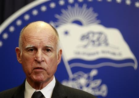 115401 california governor jerry brown speaks after vetoing the budget passed Retro Porn Movies