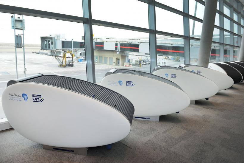 Abu Dhabi International Airport: 'GoSleep' Sleeping Pods