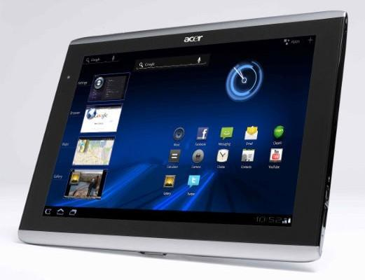 #4 Acer Iconia A500 - Transformer Prime: Five Tablets to Consider Before You Buy One