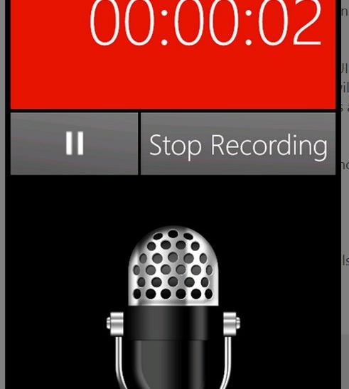 #6 Pocket Recorder - Top 10 Windows Phone Apps