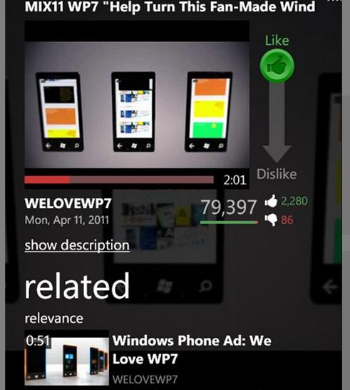#8 LazyTube - Top 10 Windows Phone Apps