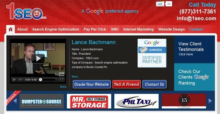 2. 1SEO- Top SEO Firms 2012