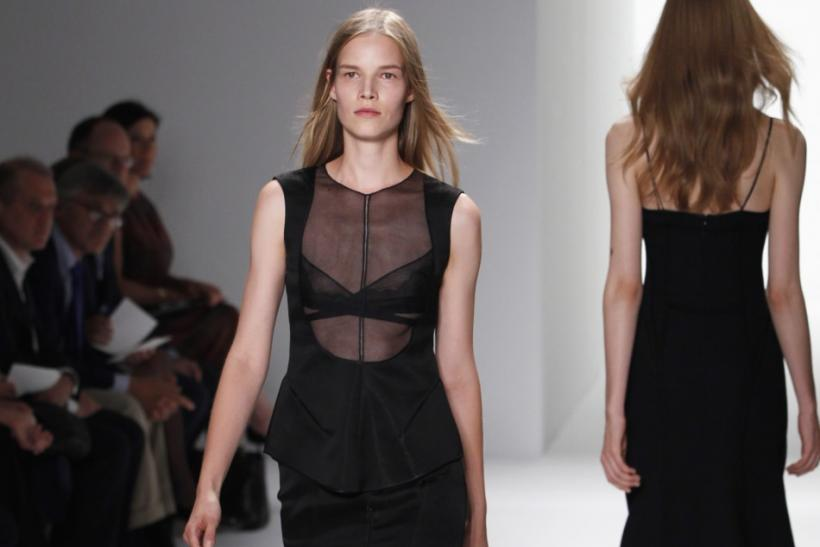 Calvin Klein Opts for Neutral and Monochromatic Hues at 2012 New York Fashion Week