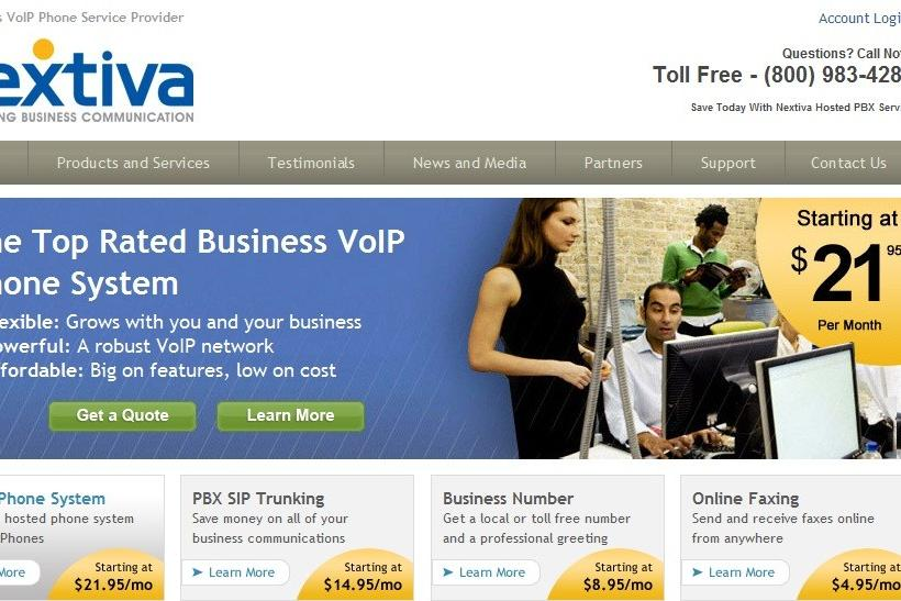 Nextiva - Top Business Phone Systems 2012