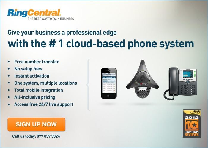 RingCentral - Top Business Phone Systems 2012