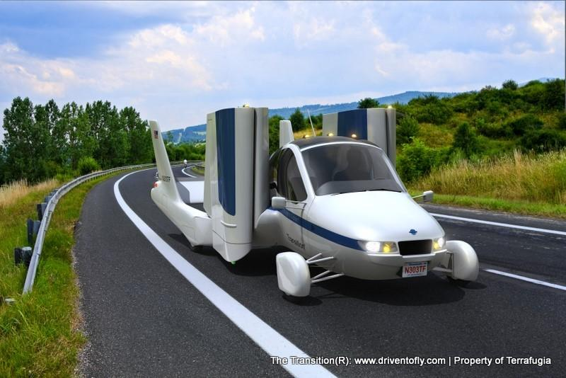 4. Terrafugia's Transition 'Flying Car'
