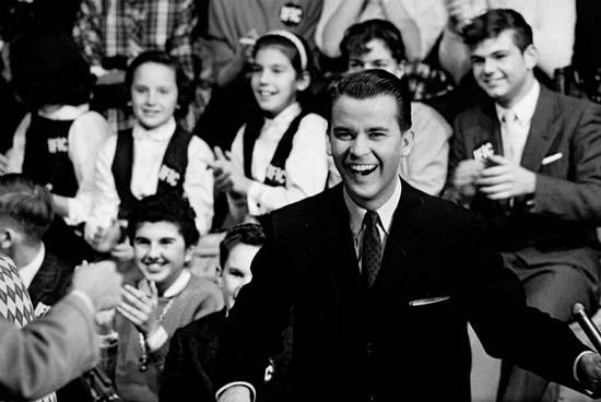 "Dick Clark on ""American Bandstand"""