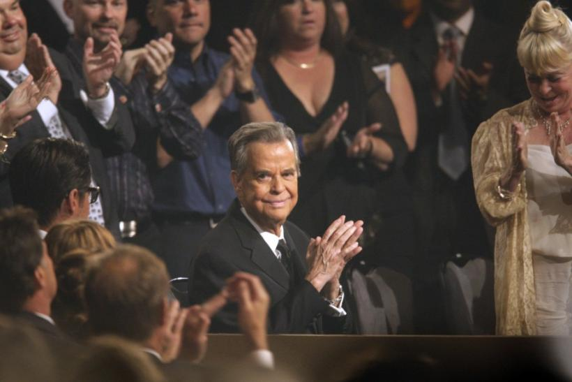 Dick Clark Accepts Emmys Tribute Honor