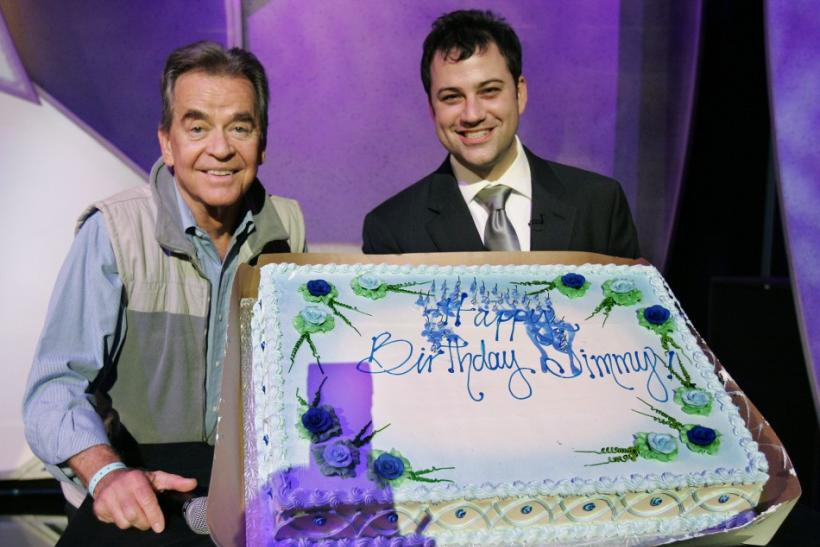 Dick Clark Helps Jimmy Kimmel Celebrate His Birthday