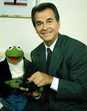 Dick Clark with Kermit The Frog