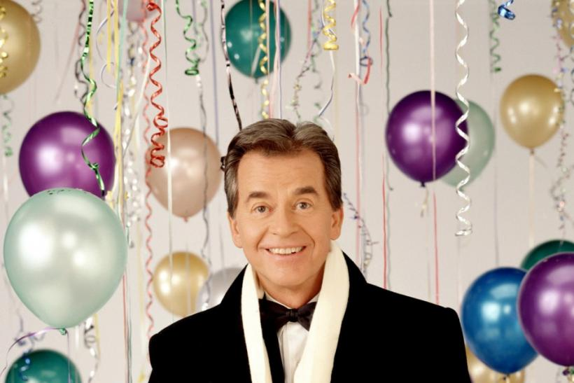 "Dick Clark Poses For ""New Year's Rockin' Eve"""