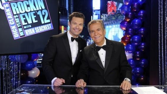 "Dick Clark and Ryan Seacrest share their last ""Rockin' Eve"" together"