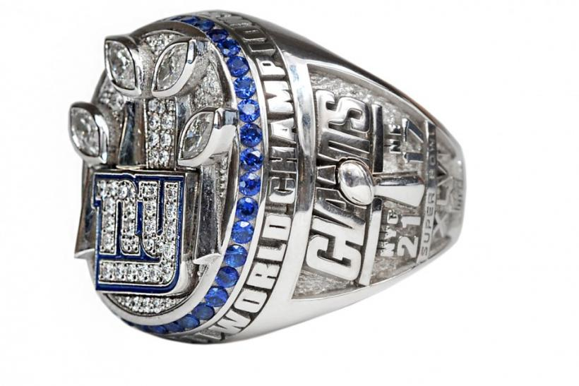The New York Giants Super Bowl Ring