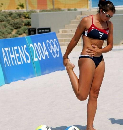 Misty May-Treanor Stretch