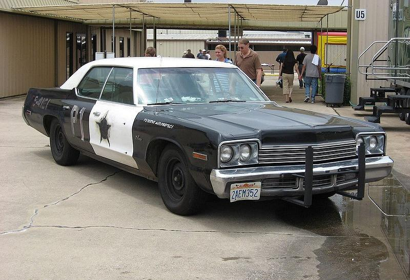 "5)	The Bluesmobile from ""The Blues Brother"""