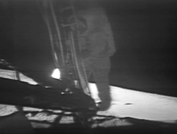 Armstrong on moon
