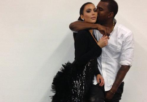 Kim Kardashian And Kanye West Photographed For First Time Since Pregnancy Announcement