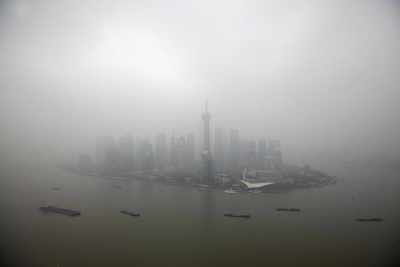 Shanghai also sees heavy pollution