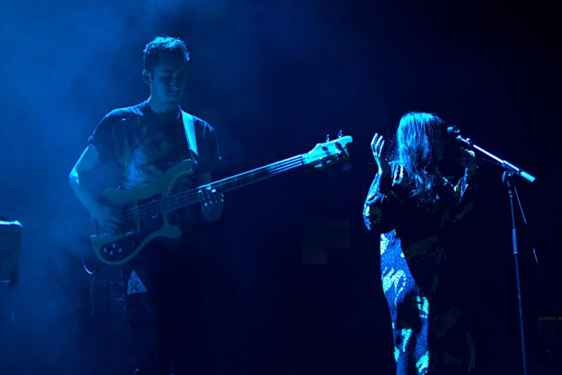 Dorian Wolf And Sari Lightman Of Austra