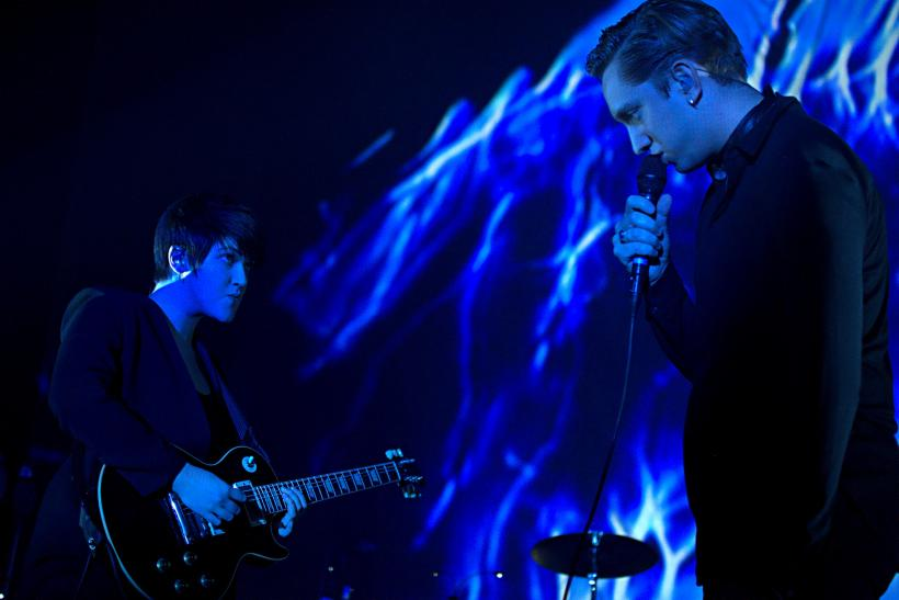 Romy Madley Croft And Oliver Sim Of The XX
