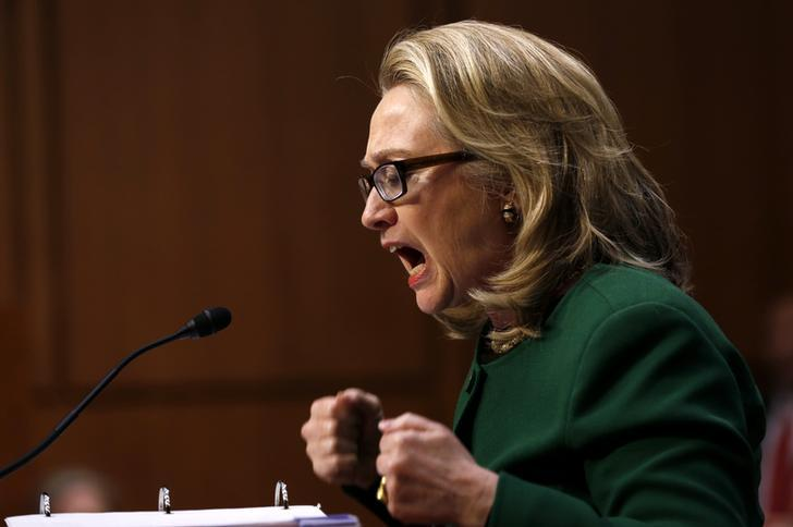 Clinton At Benghazi Hearings Jan. 23, 2013