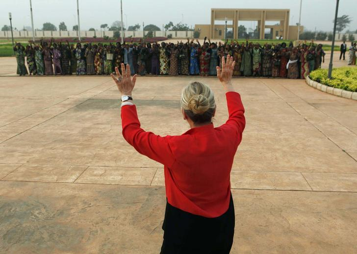 Clinton in Togo, January 17, 2012