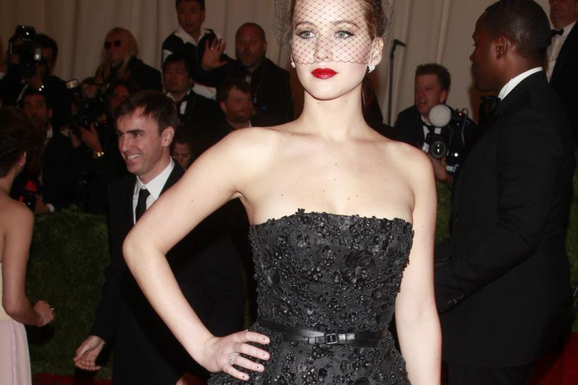 Jennifer Lawrence at the 2013 Met Gala
